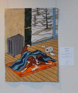 art quilt by David Charity