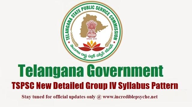 Telangana TSPSC Group IV Syllabus 2015, Paper Pattern, Detailed Notification, Examination Pattern