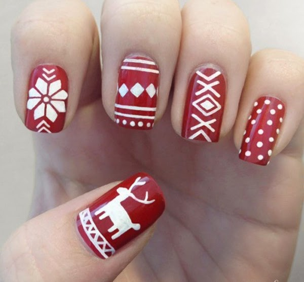 Christmas diy nail art design tutorials nail pixiie shop for nail polish products used here solutioingenieria Image collections