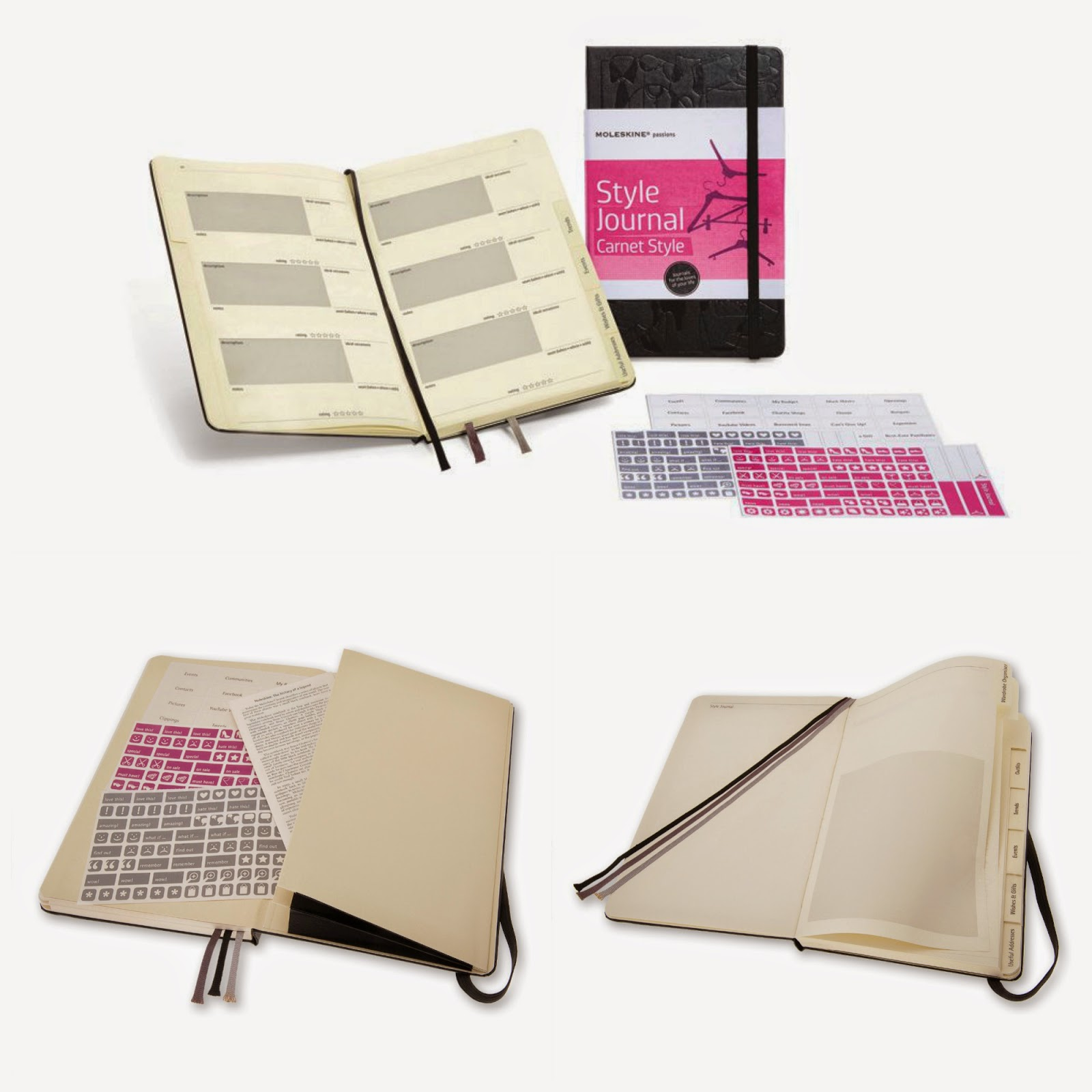 style journal moleskine