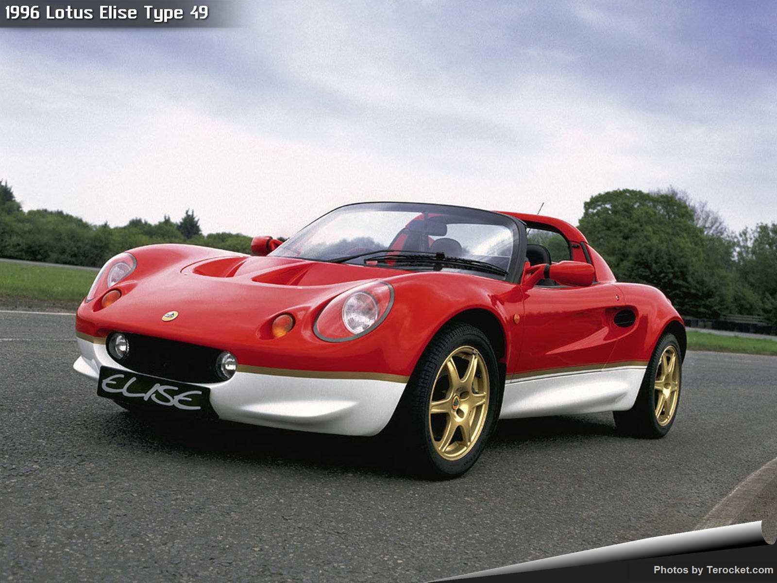 Hình ảnh siêu xe Lotus Elise Type 49 1996 & nội ngoại thất