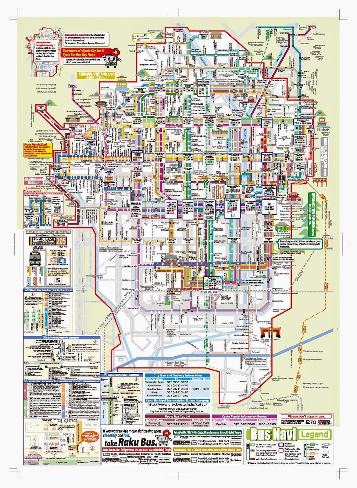 KolaXiong Travel Day 4 Kyoto North West