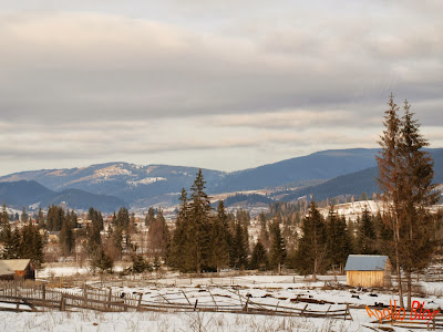 Comuna Bilbor - Peisaj de Iarna