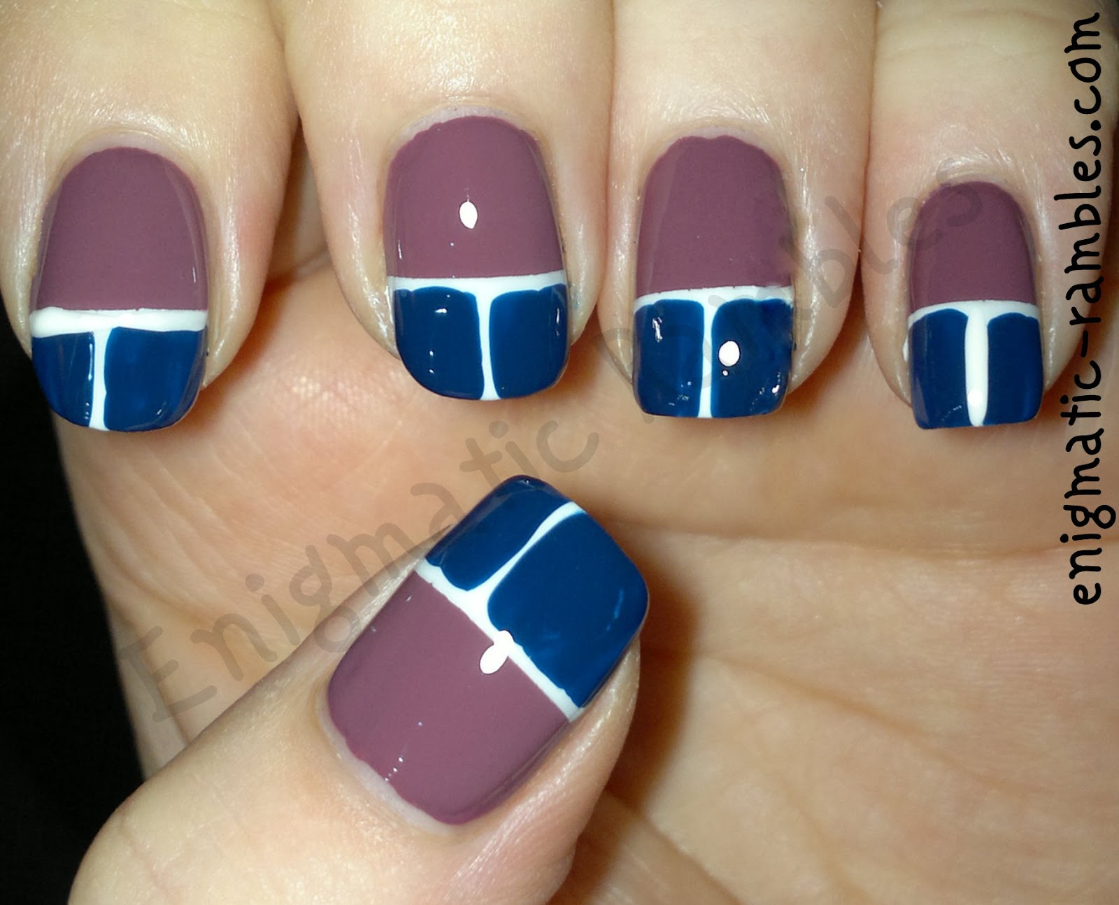 beetle-stripping-tape-tips-nails-sinful-colors-snow-me-white-barry-m-blue-plum-leighton-denny-crushed-grape