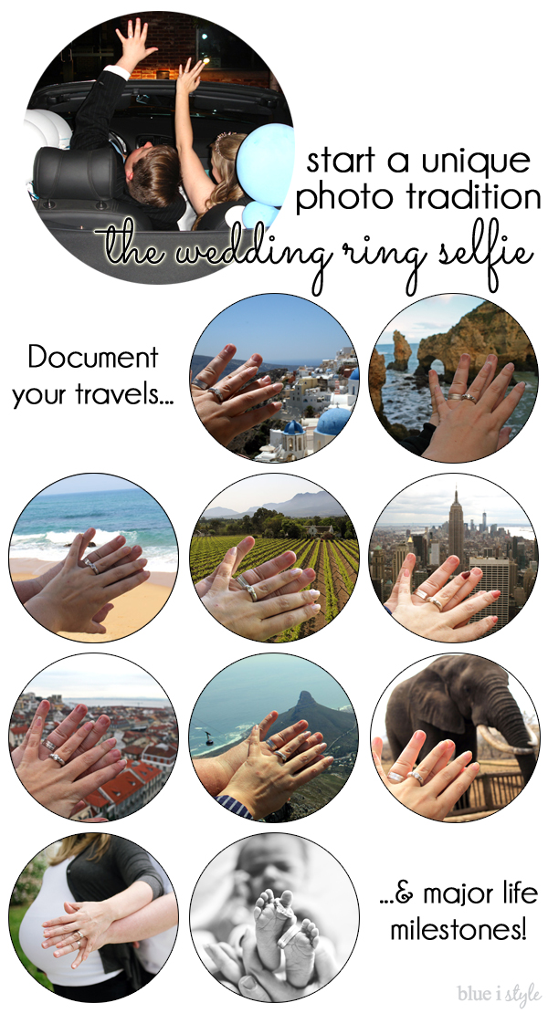 Wedding Ring Selfie Photo Tradition