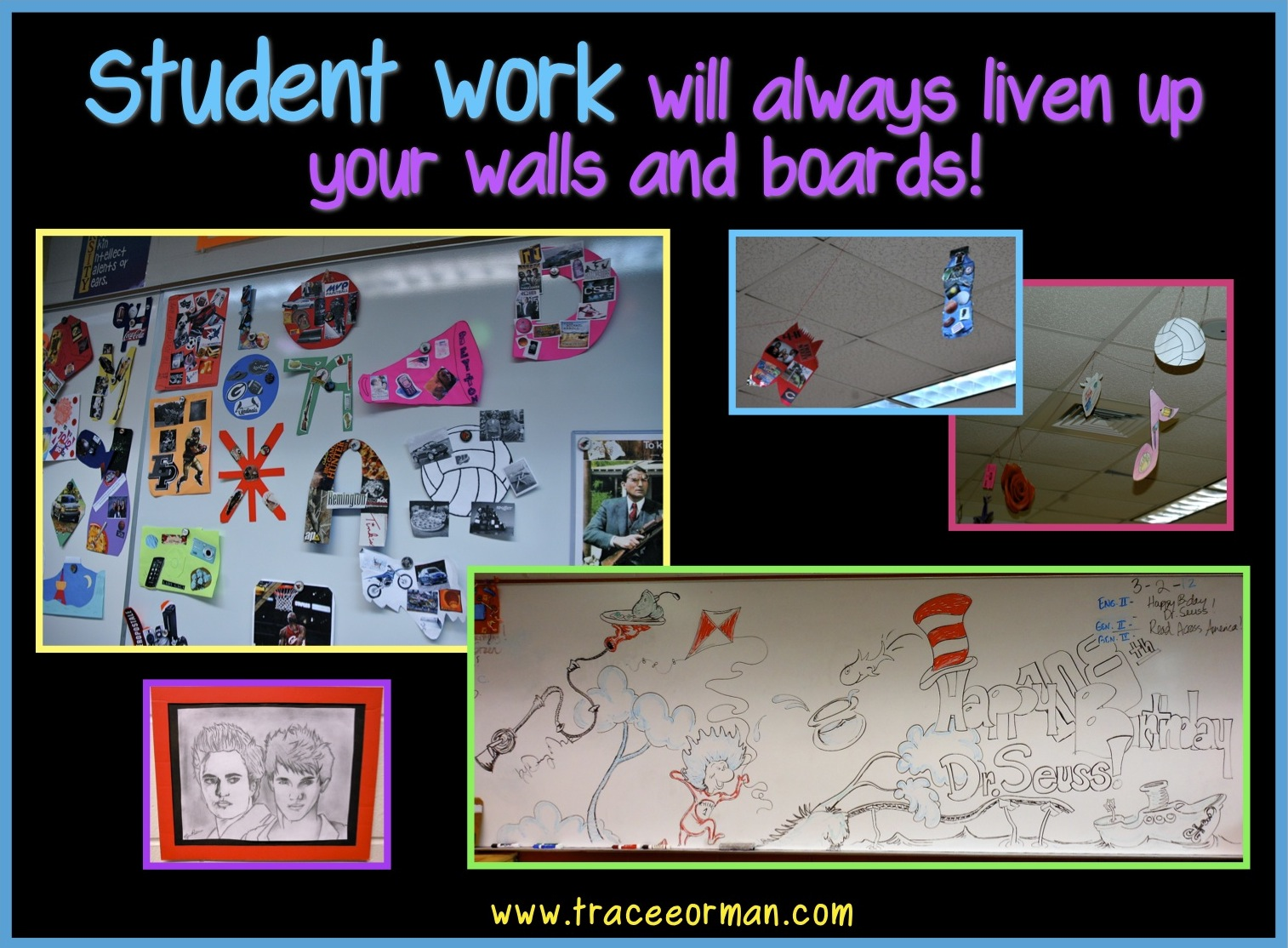 Secondary Classroom Decoration : Ideas for decorating high school english classroom