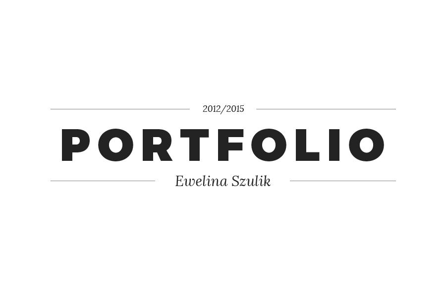 ewelina szulik | design portfolio