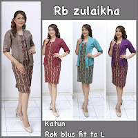 model dress baju batik motif batik parang