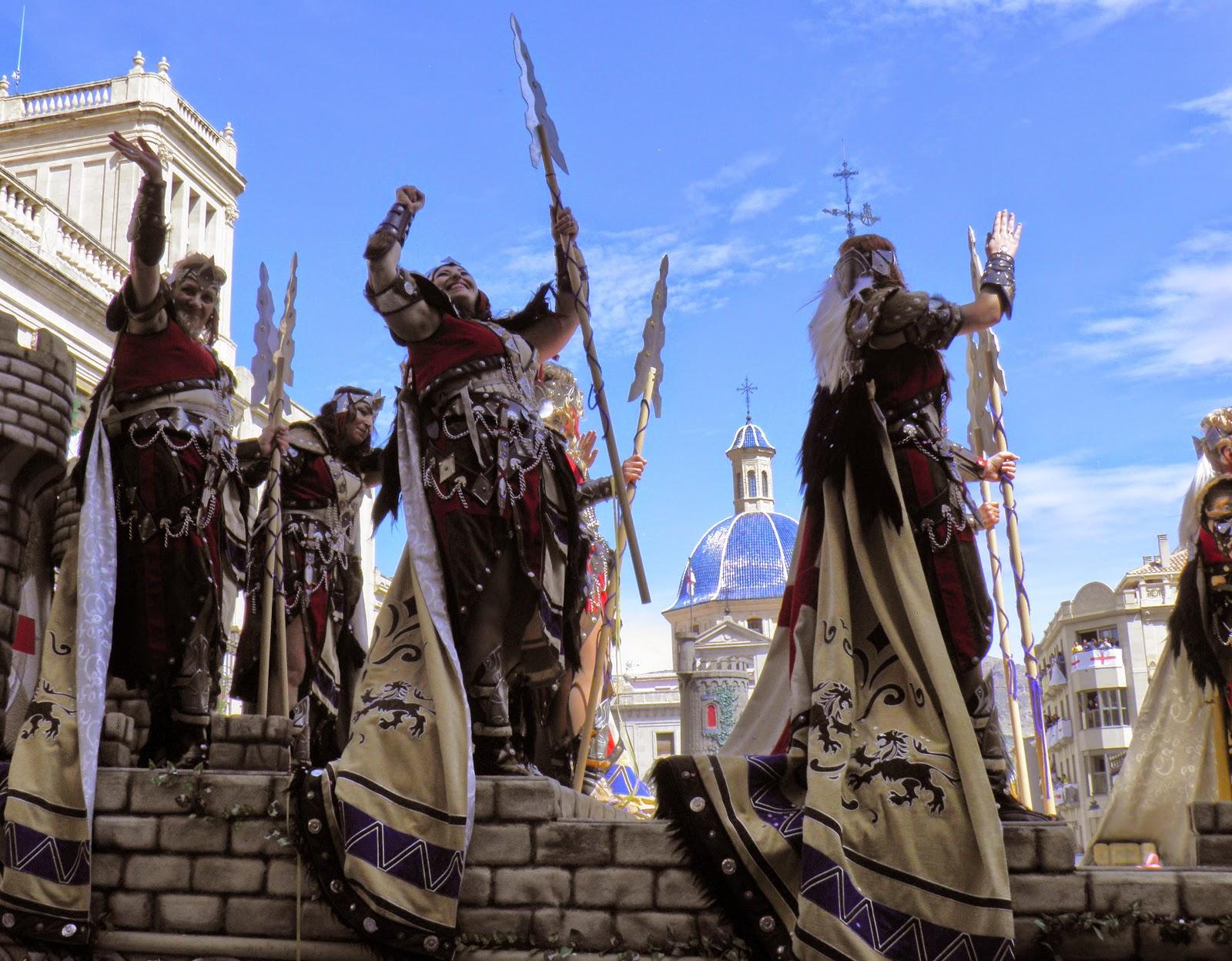 ... , Quatretondeta, Spain.: Moors and Christians Fiestas of Alcoy - 2016