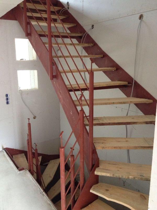 Treppen Haubner treppe montiert