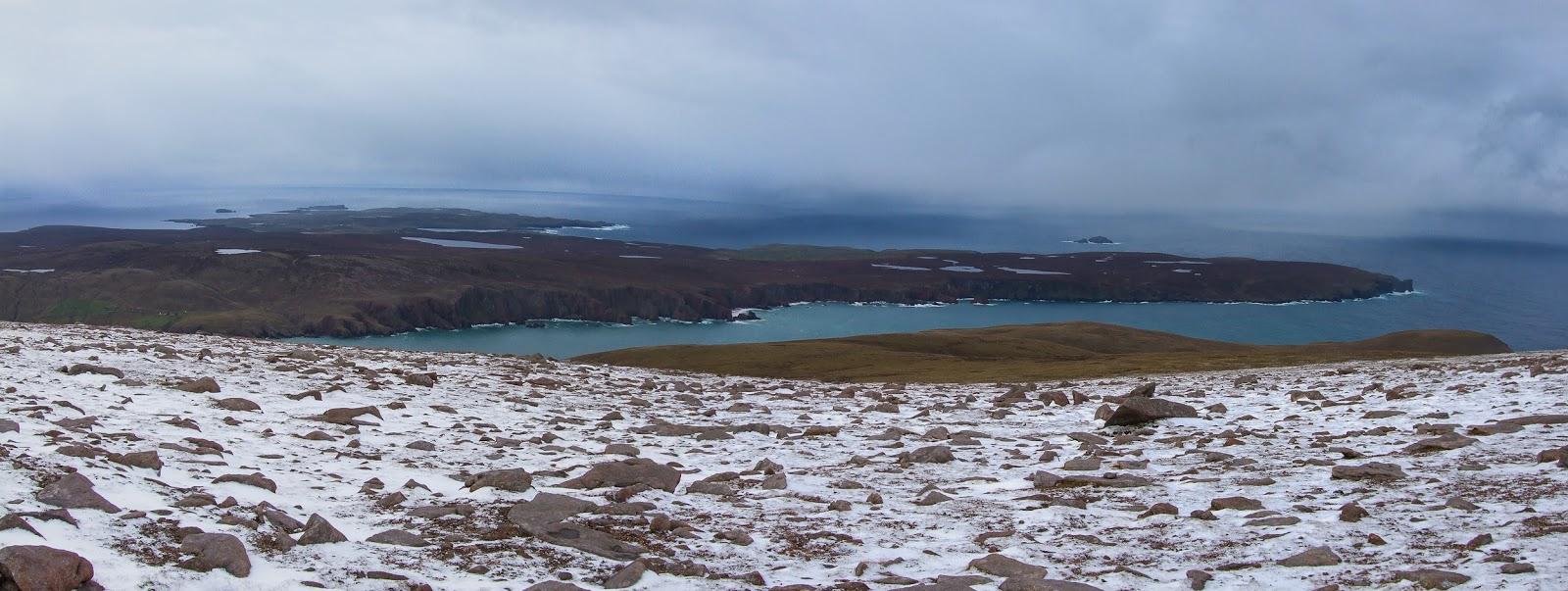 Moder-Dye: First snows on Ronas Hill