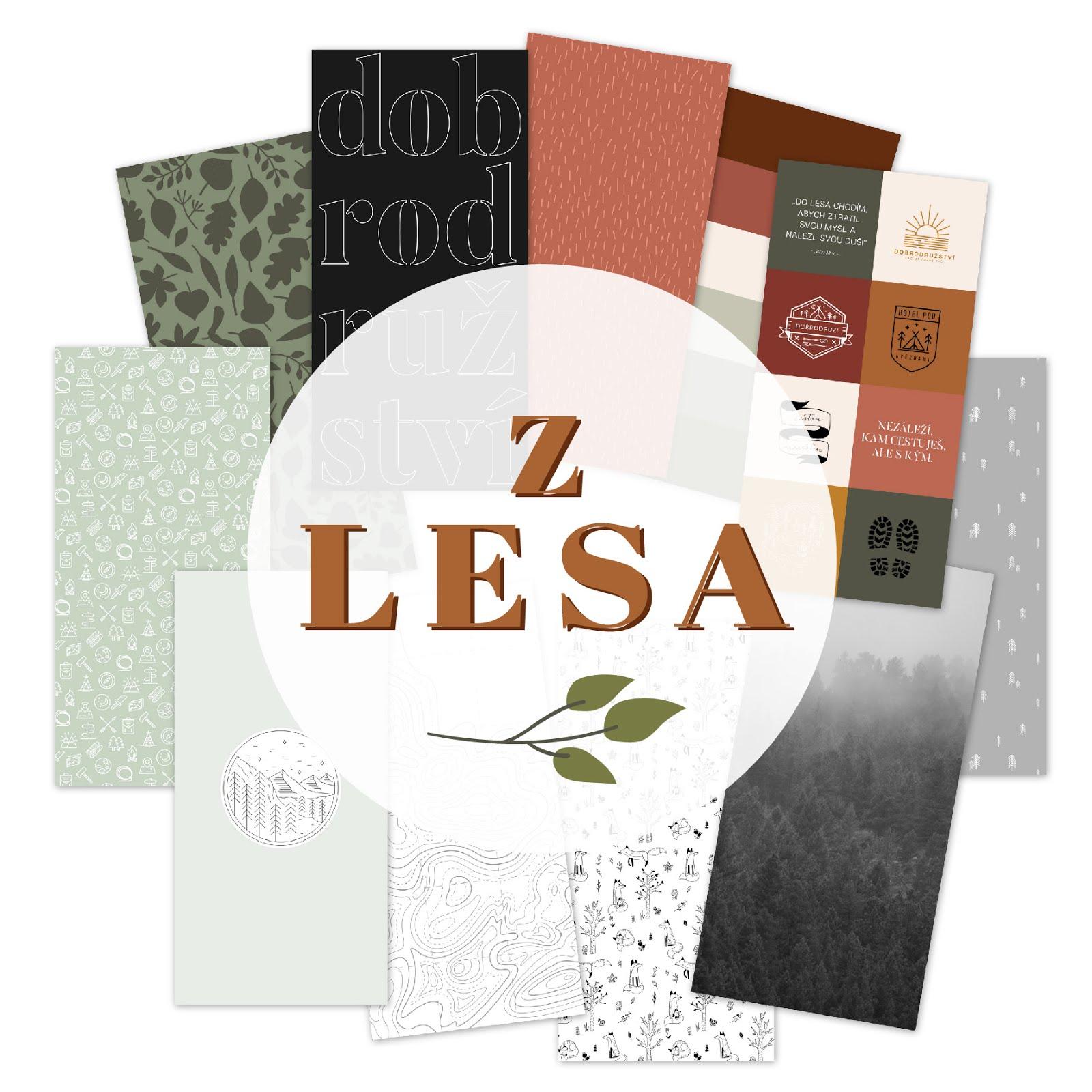 Nová deníková kolekce Z LESA