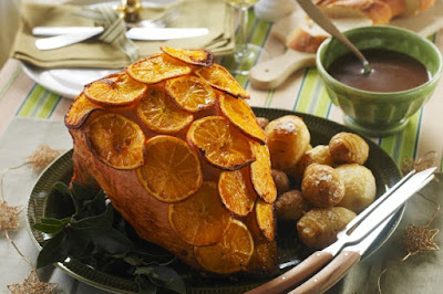 Orange flavoured Christmas turkey buffé with Cointreau gravy Recipe