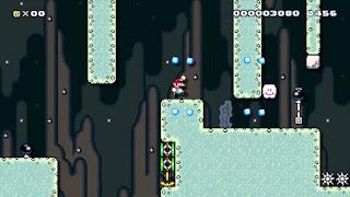 Pantalla de Bomb Voyage en Super Mario Maker