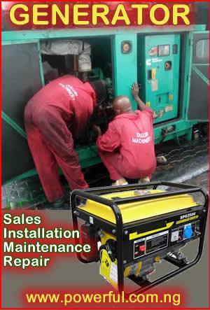 Generating plant maintenance