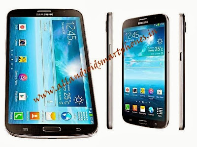 Samsung Galaxy Mega 6.3 GT-I9205 3G Phablet Smartphone Black Front & Side Images & Photos Review_new