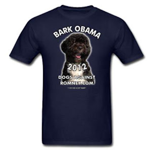 "Official Dogs Against Romney ""Bark Obama 2012"""