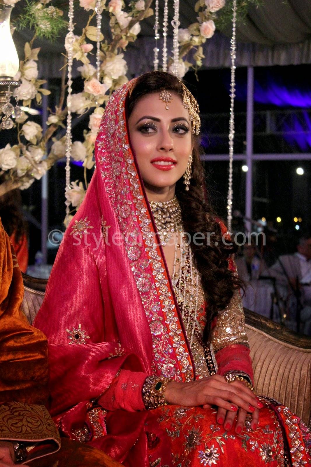 Pakistani model wedding