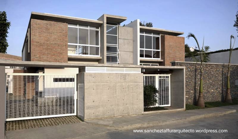 Arquitectura de casas modernas y contempor neas por pa ses for Fachadas de casas modernas con zaguan