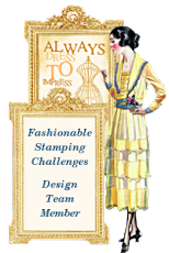 I am very proud to design for Fashionable Stamping