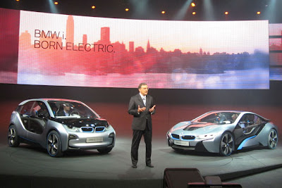 BMW+i3+and+i8 BMW i3 & i8, Konsep Mobil Listrik Masa Depan