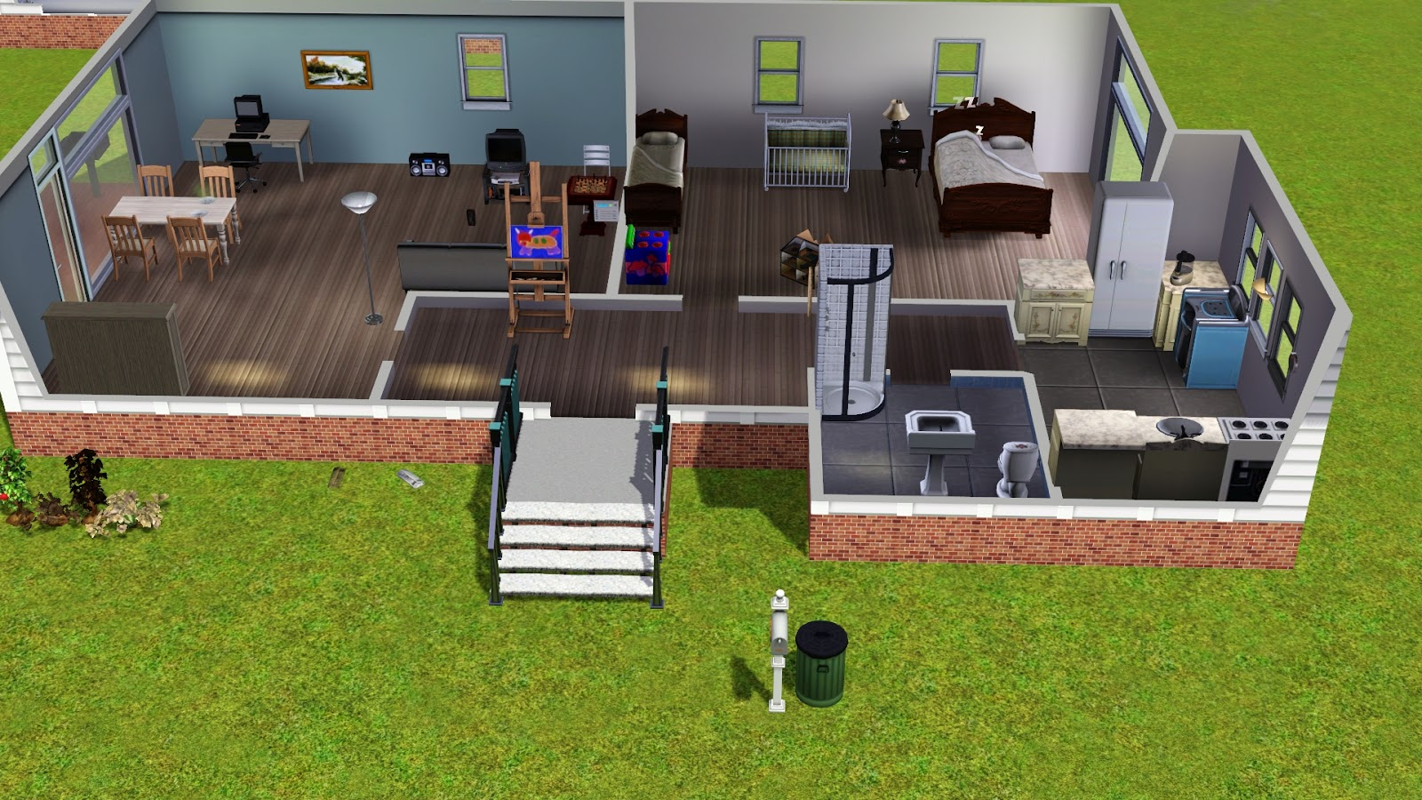 14 Inspiring Cool Houses On Sims 3 Photo Home Building