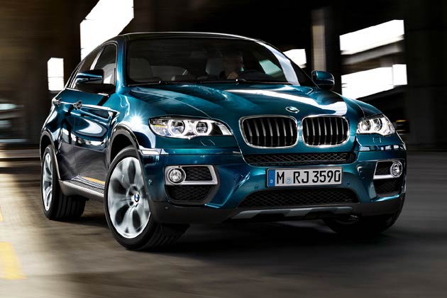 The all new BMW X6 : New entrant Car