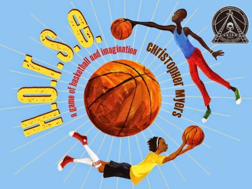 h.o.r.s.e.: a game of basketball and imagination by christopher myers book cover