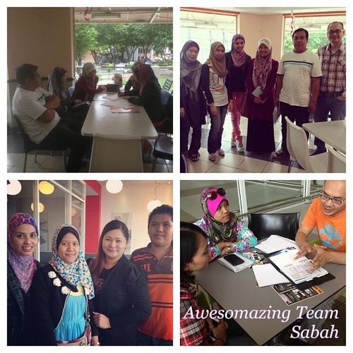 Awesomazing Team Sabah sedang giat berkembang maju