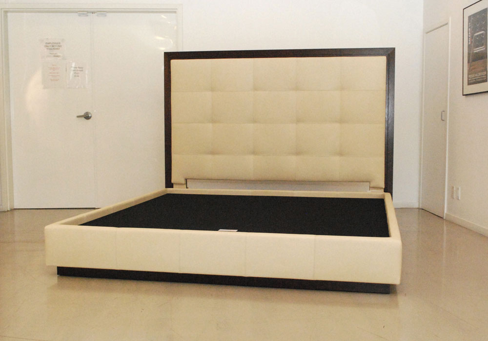 ... /newcastle-cherry-wood-king-sleigh-bed-with-bycast-leather-headboard