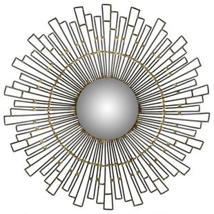 Overstock Safavieh Concave Sunburst Natural Mirror 20 inch