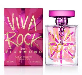 John Richmond launches Viva Rock fragrance this February