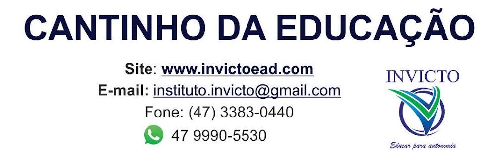 Blog Cantinho da Educação
