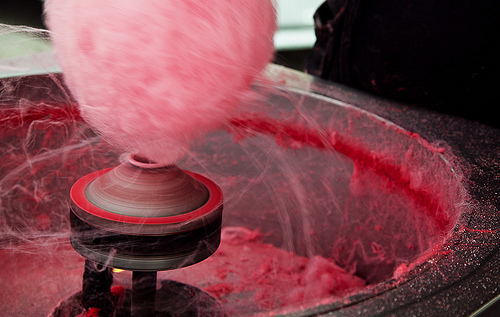 heart of hollyhill making cotton candy