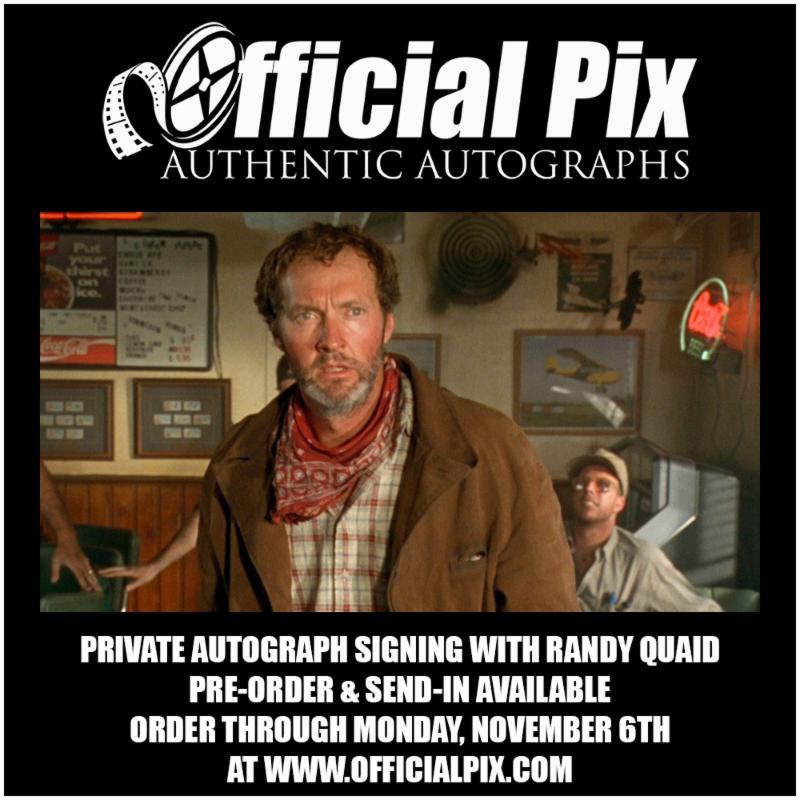 Official Pix Randy Quaid Private Signing!