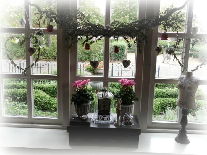 krek wak wou raamdecoratie