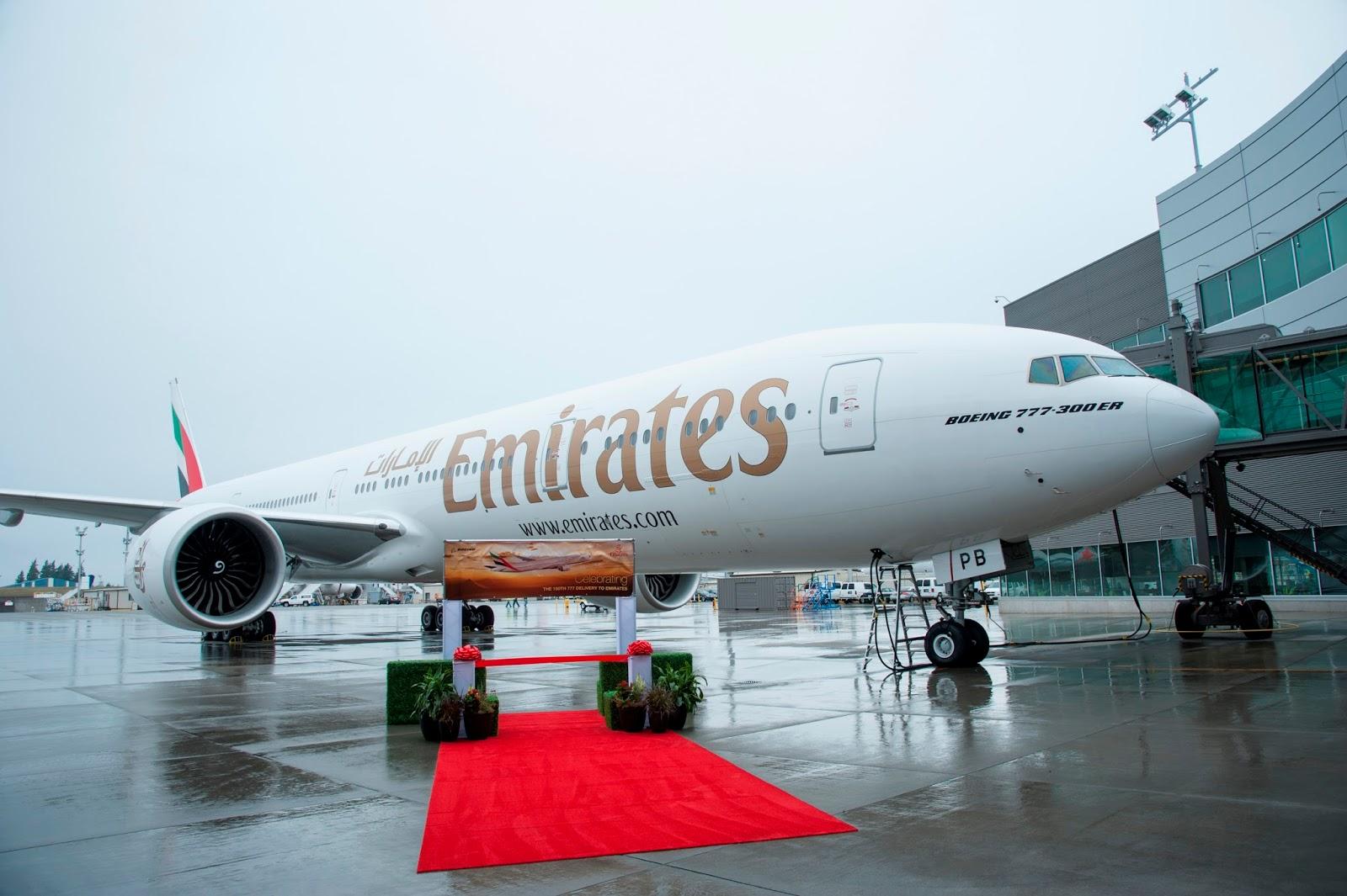 É MAIS QUE VOAR | Emirates recebe o 150º Boeing 777