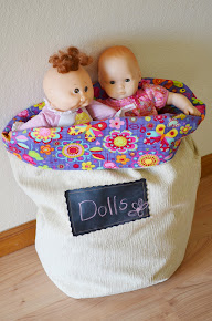 DIY Toy Bag Tutorial