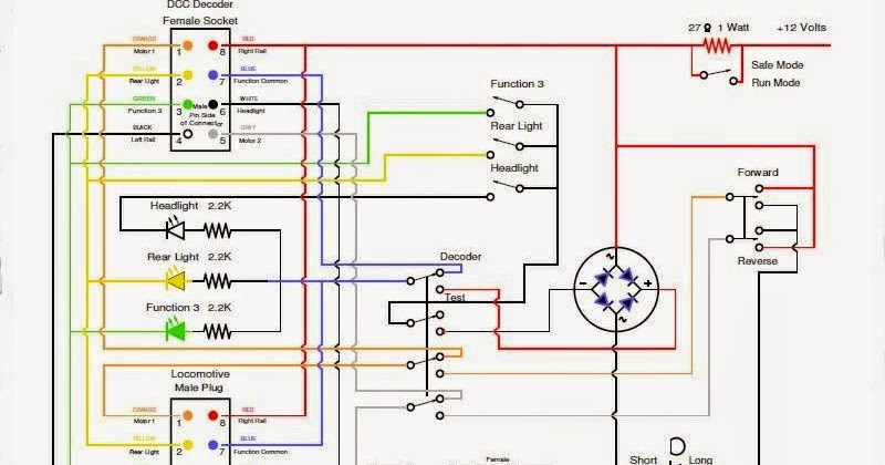 my model railroad september 17, 2014 dcc test box Dcc Decoder Wiring Diagram Dcc Decoder Wiring Diagram #49 dcc decoder wiring diagram