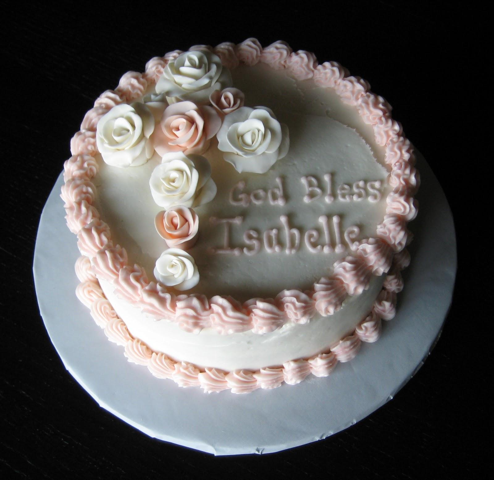 Custom Cakes by Julie: Baptism Cake III