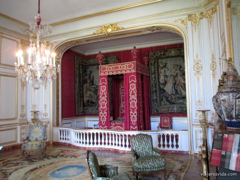 Viajaresvida - Habitación del Rey en Château de Chambord
