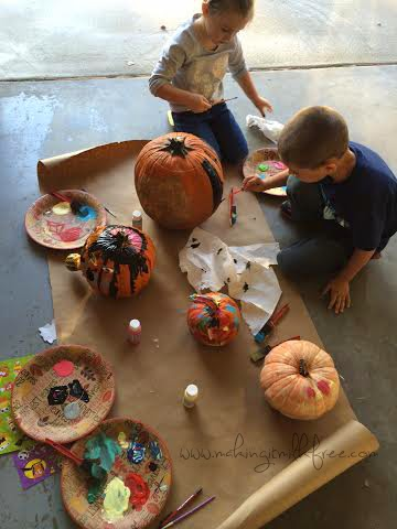 #fall #halloween #pumpkins #pumpkinpainting