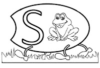 Alfabeto centopeia letra S