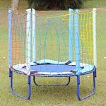 Cama Elástica Infantil 1,35 m Azul