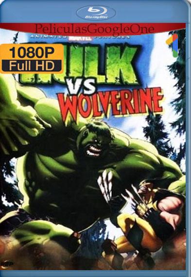 Hulk vs. Wolverine (2009) BRrip [1080p] [Latino] [GoogleDrive]