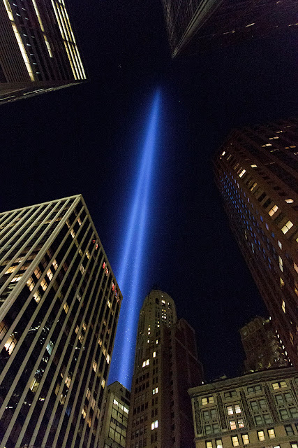 New York, Tribute in light. Di Marco Chinellato