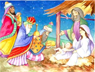 Nacimiento del Niño Dios y los 3 Reyes Magos