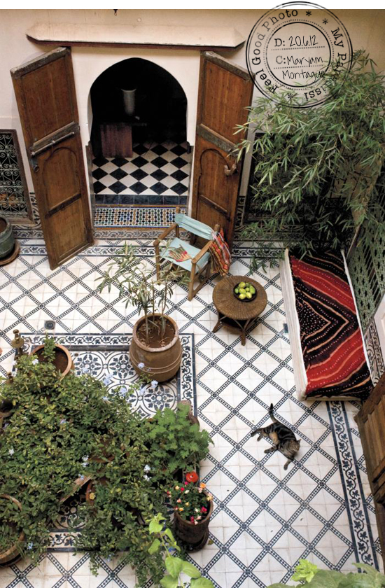 Moroccan Patio Images Frompo 1