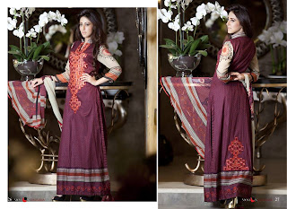 Monsoon festivana Collection 2013 vol 2  for women by Al Zohaib Textile