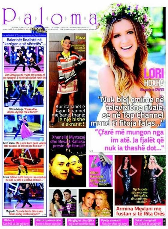 Revista PALOMA - 25 Janar 2014